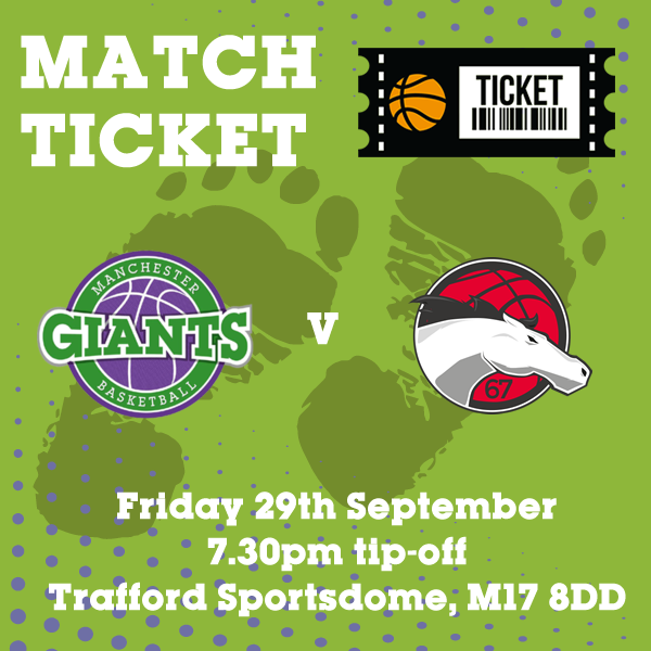 Match Ticket v Leicester Riders