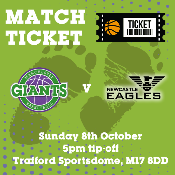 Match Ticket v Newcastle Eagles