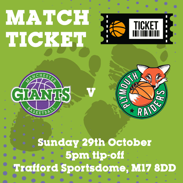 Match Ticket v Plymouth Raiders